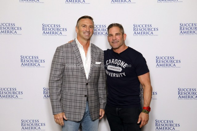Grant Cardone with attendees