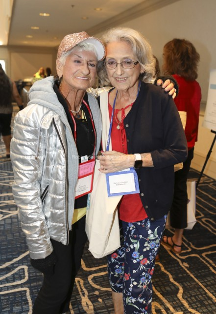 Attendees at the Scleroderma conference.